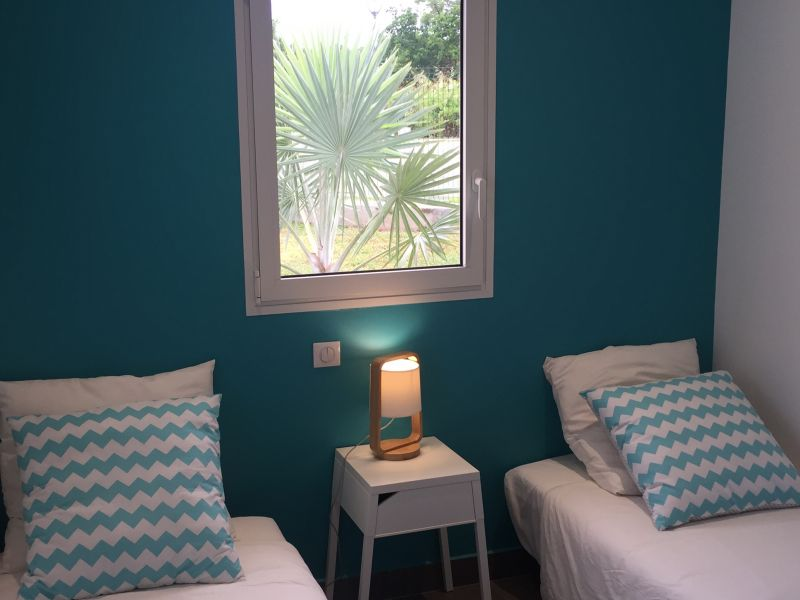 Chambre turquoise